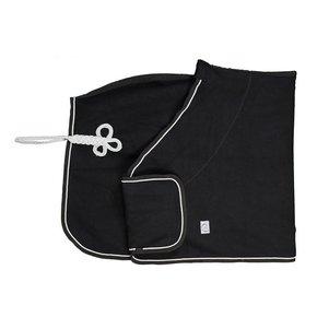 Couverture laine remise des prix - noir/noir-gris argent