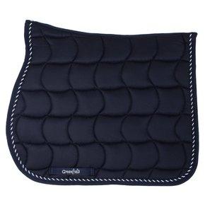 Saddle pad – navy/navy-mix