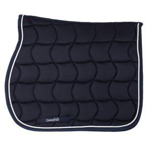 Saddle pad – navy/navy-white