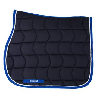 Greenfield Selection Zadeldoek - blauw/koningsblauw-wit