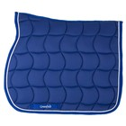 Greenfield Selection Tapis de selle - bleu royal/bleu royal-blanc