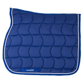 Zadeldoek - koningsblauw/koningsblauw-wit