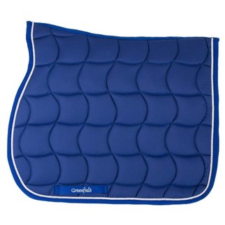 Greenfield Selection Zadeldoek - koningsblauw/koningsblauw-wit