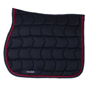 Saddle pad – navy/navy-red