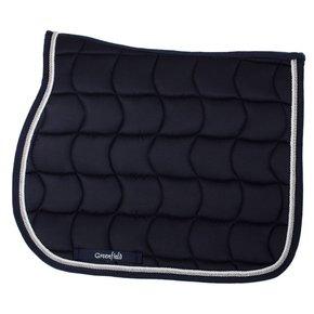 Saddle pad – navy/navy-white/silvergrey