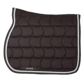 Saddle pad – grey/grey-white/silvergrey