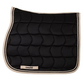 Saddle pad – black/beige-black/beige