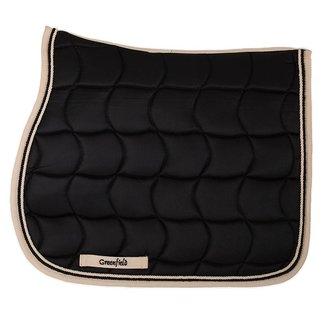 Greenfield Selection Saddle pad – black/beige-black/beige