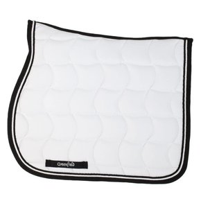 Saddle pad – white/black-white/black