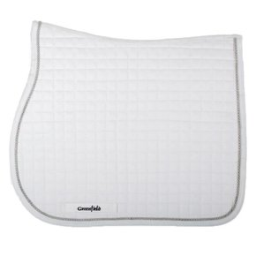 Saddle pad cookie - white/white-silvergrey