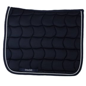 Saddle pad dressage - navy/navy-silver