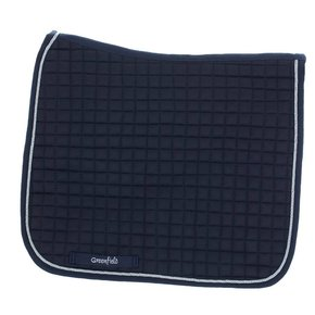 Saddle pad cookie dressage - navy/navy-silver