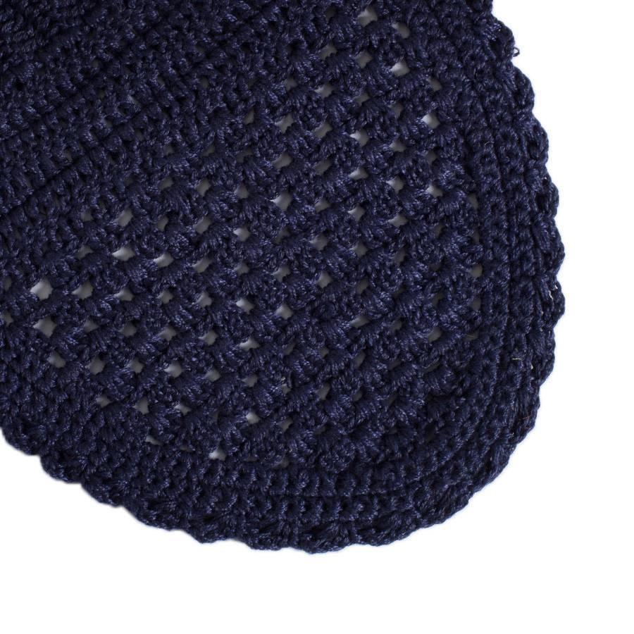 Greenfield Selection Bonnet - bleu marine