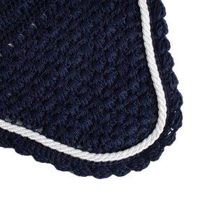 Oornetje - blauw/blauw-wit