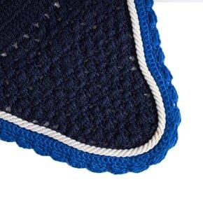 Oornetje - blauw/lichtblauw-wit