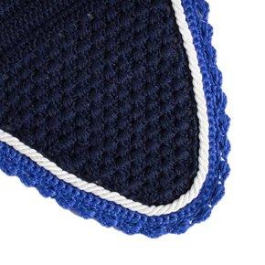 Oornetje - blauw/koningsblauw-wit