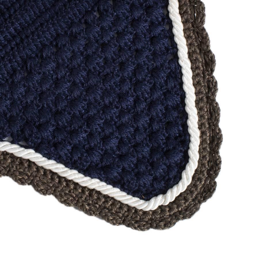 Greenfield Selection M/1 - Bonnet - bleu marine/gris-blanc