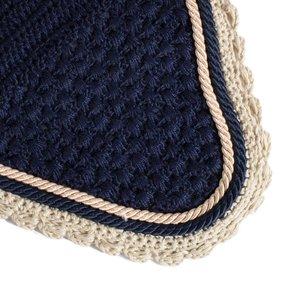 Bonnet - bleu marine/beige-bleu marine/beige