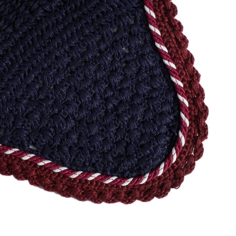 Greenfield Selection M/1 - Bonnet - bleu marine/bordeaux-mix