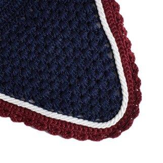 Greenfield Selection Bonnet - bleu marine/bordeaux-blanc