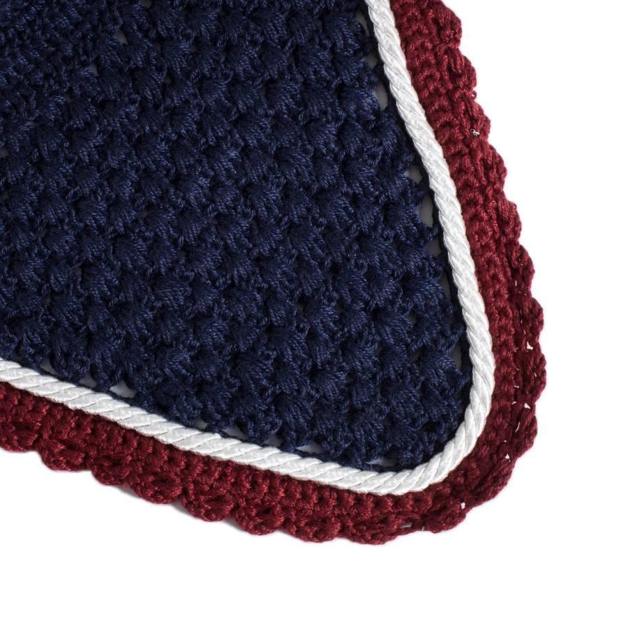 Greenfield Selection M/1 - Bonnet - bleu marine/bordeaux-blanc