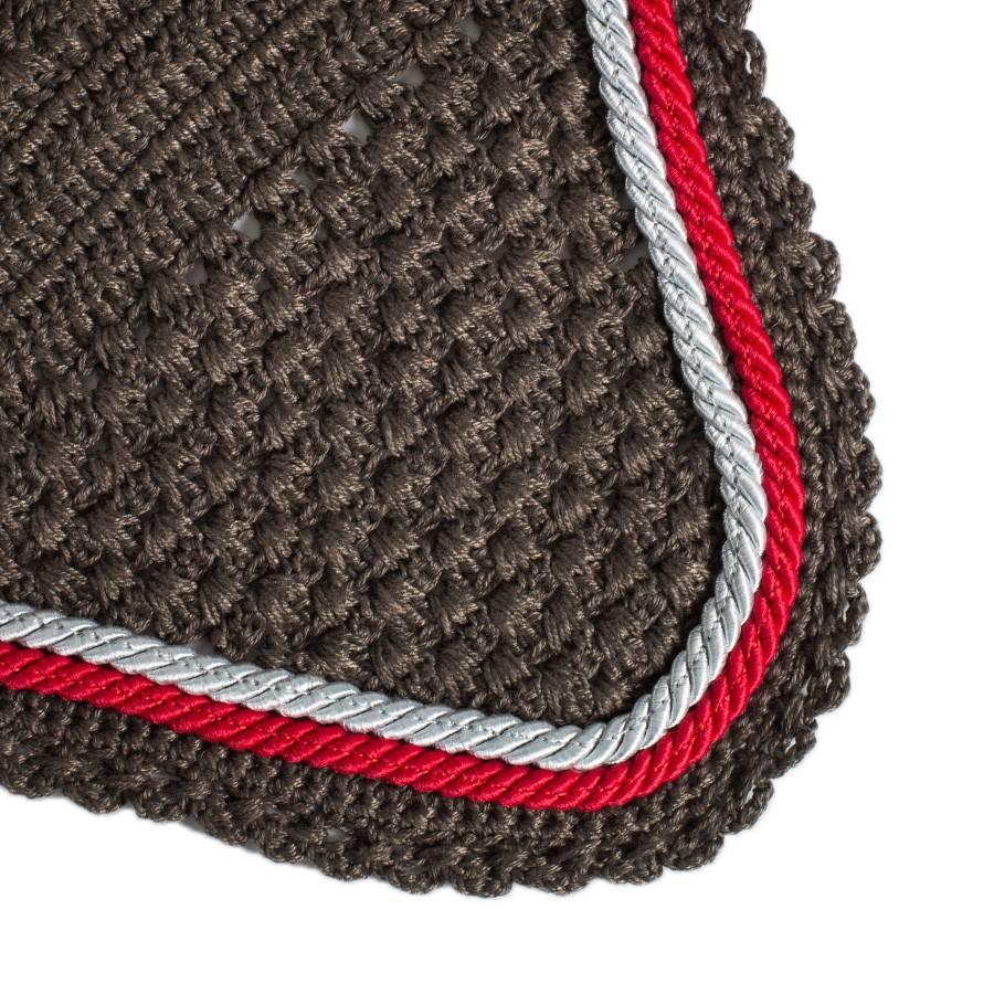 Greenfield Selection M/2 - Bonnet - gris/gris-gris argent/rouge