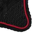 Greenfield Selection M/1 - Bonnet - noir/noir-rouge
