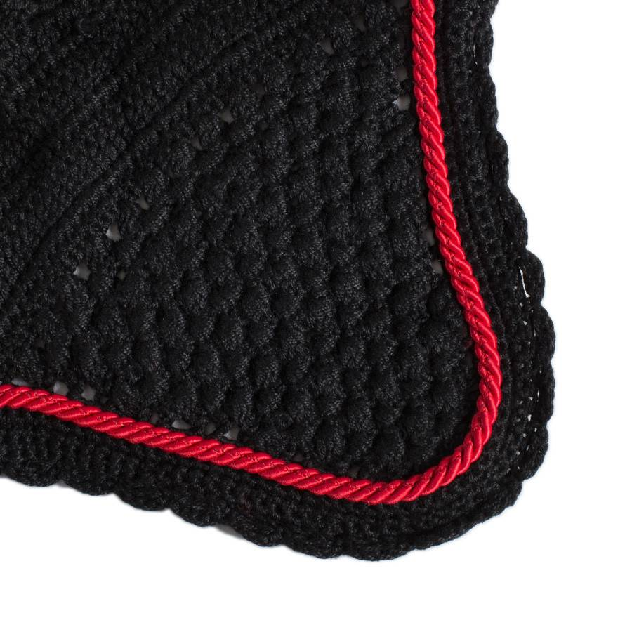 Greenfield Selection M/1 - Oornetje - zwart/zwart-rood