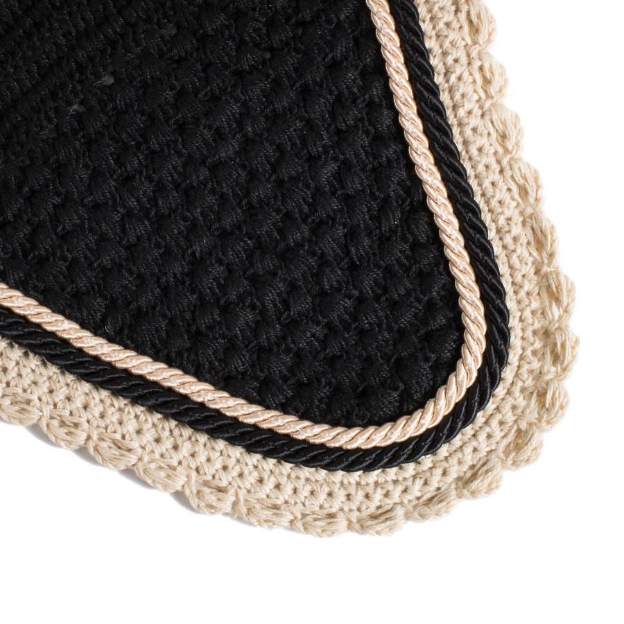 Greenfield Selection M/2 - Oornetje - zwart/beige-zwart/beige