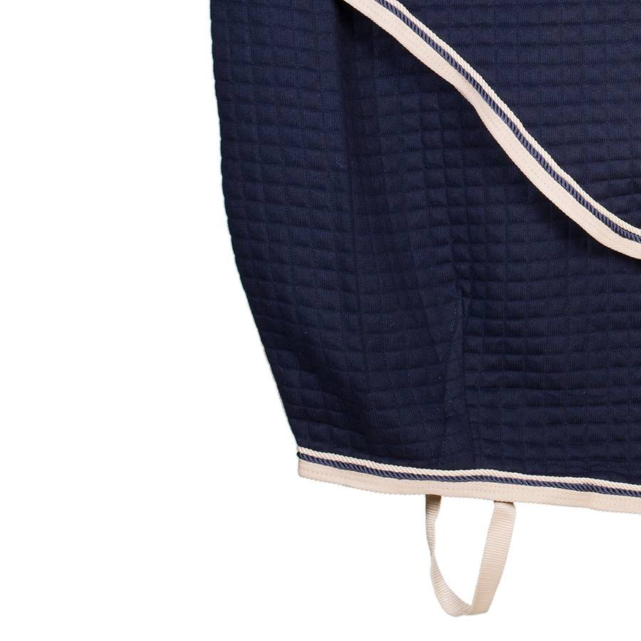 Greenfield Selection Thermotex deken - blauw/beige-blauw/beige