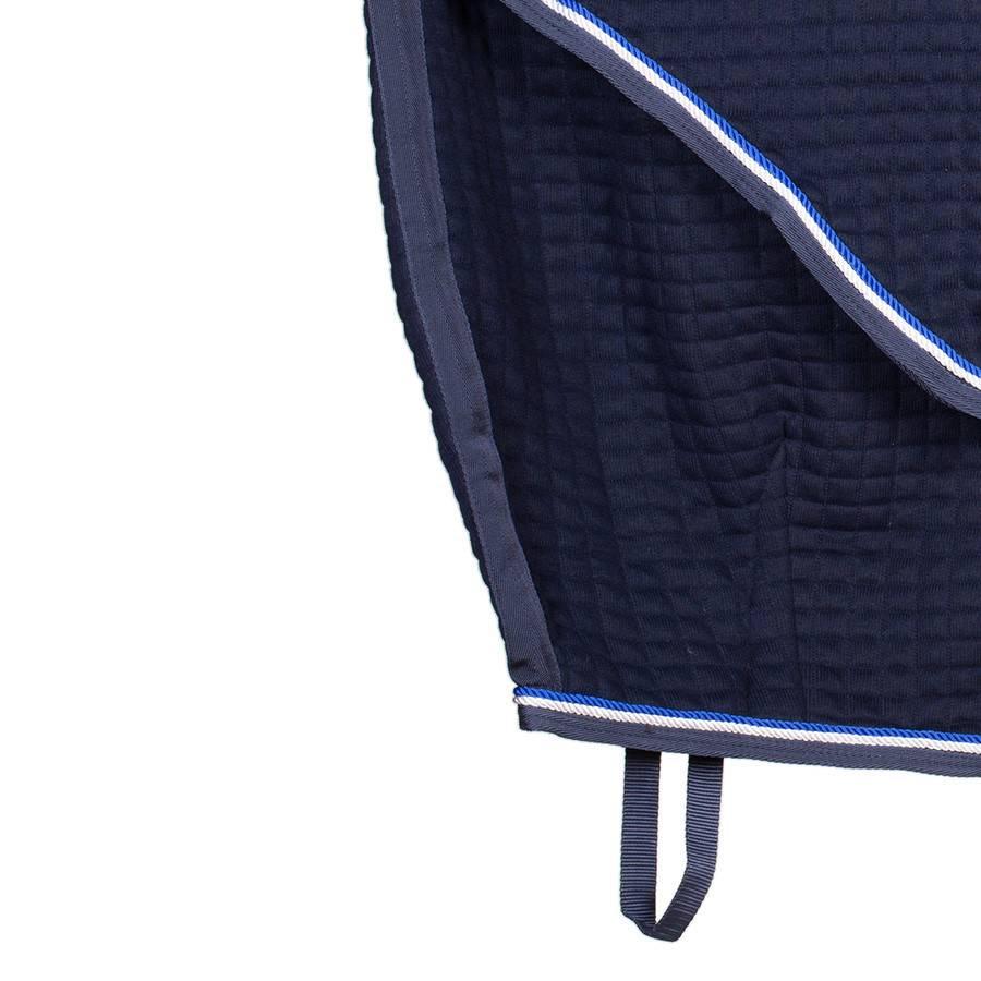 Greenfield Selection Thermotex deken - blauw/blauw-wit/koningsblauw
