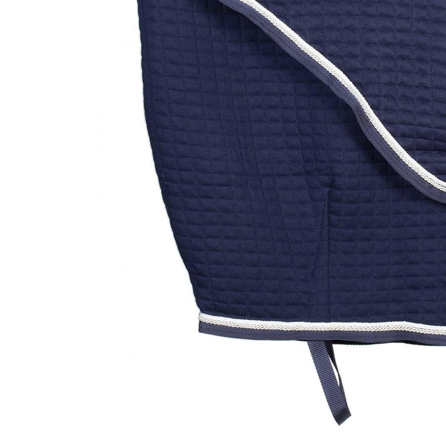 Greenfield Selection Thermotex deken - blauw/blauw-wit/zilvergrijs
