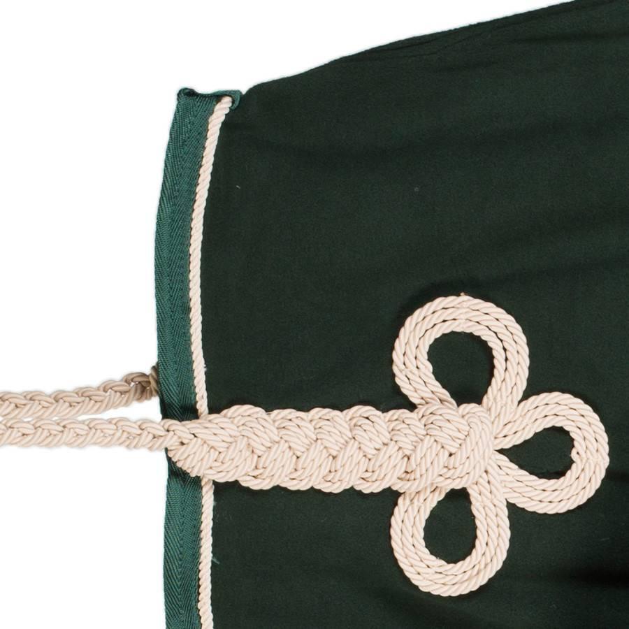 Greenfield Selection Fleece deken - groen/groen-beige