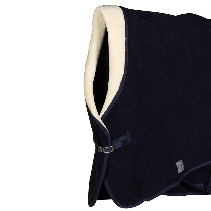 Greenfield Selection Fleece teddy kraag - blauw
