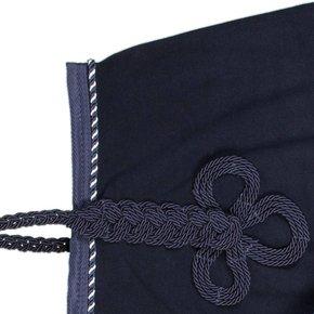 Riding sheet fleece - navy/navy-mix (navy)