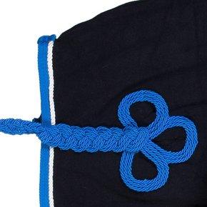 Nierdeken fleece - blauw/lichtblauw-wit