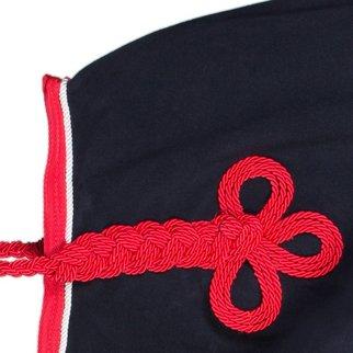 Greenfield Selection Nierdeken fleece - blauw/rood-wit