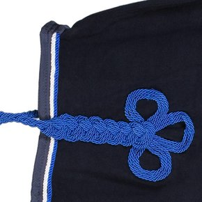 Riding sheet fleece - navy/navy-white/royalblue