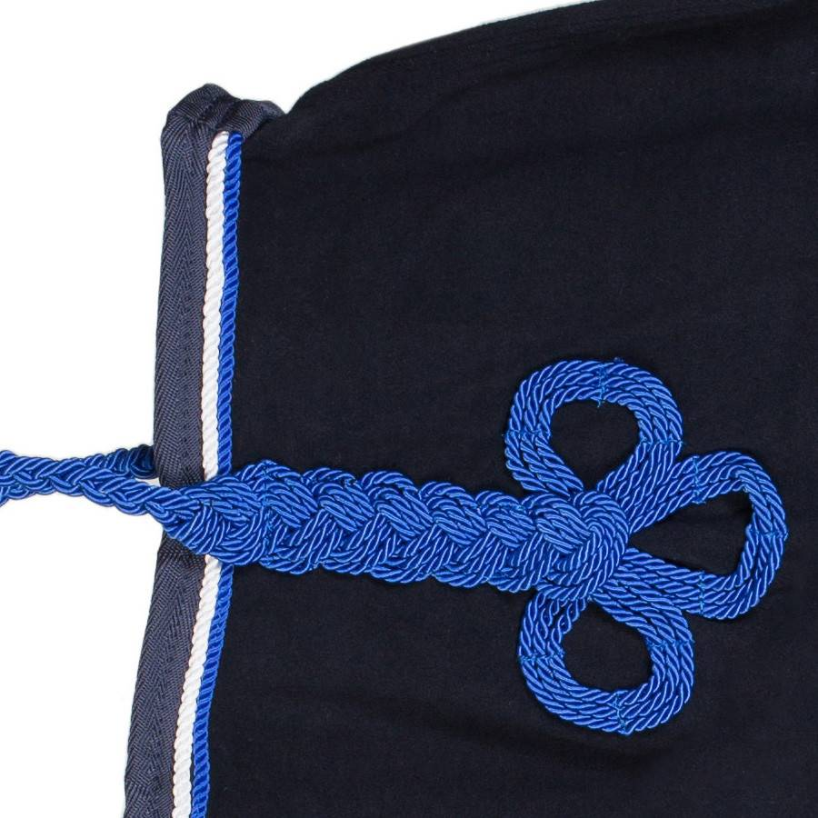 Greenfield Selection Couvre-reins polaire - bleu marine/bleu marine-blanc/bleu royal