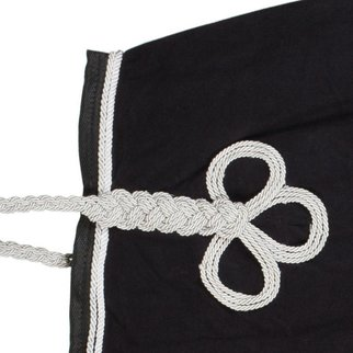 Greenfield Selection Nierdeken fleece - zwart/zwart-wit/zilvergrijs
