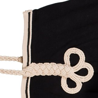 Greenfield Selection Couvre-reins polaire - noir/beige-noir/beige