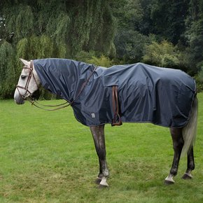 Complete riding rain sheet