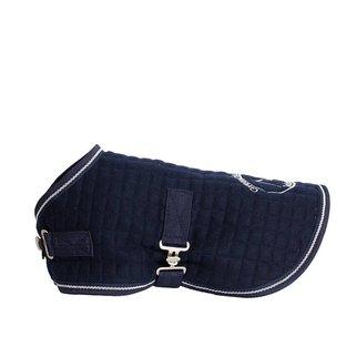Greenfield Selection Manteau pour chien thermo - bleu marine/blanc
