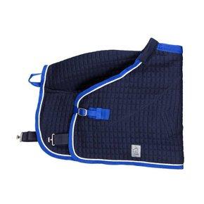 Thermo-deken pony - blauw/koningsblauw-wit