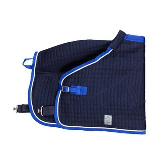 Greenfield Selection Thermo rug pony - navy/royalblue-white