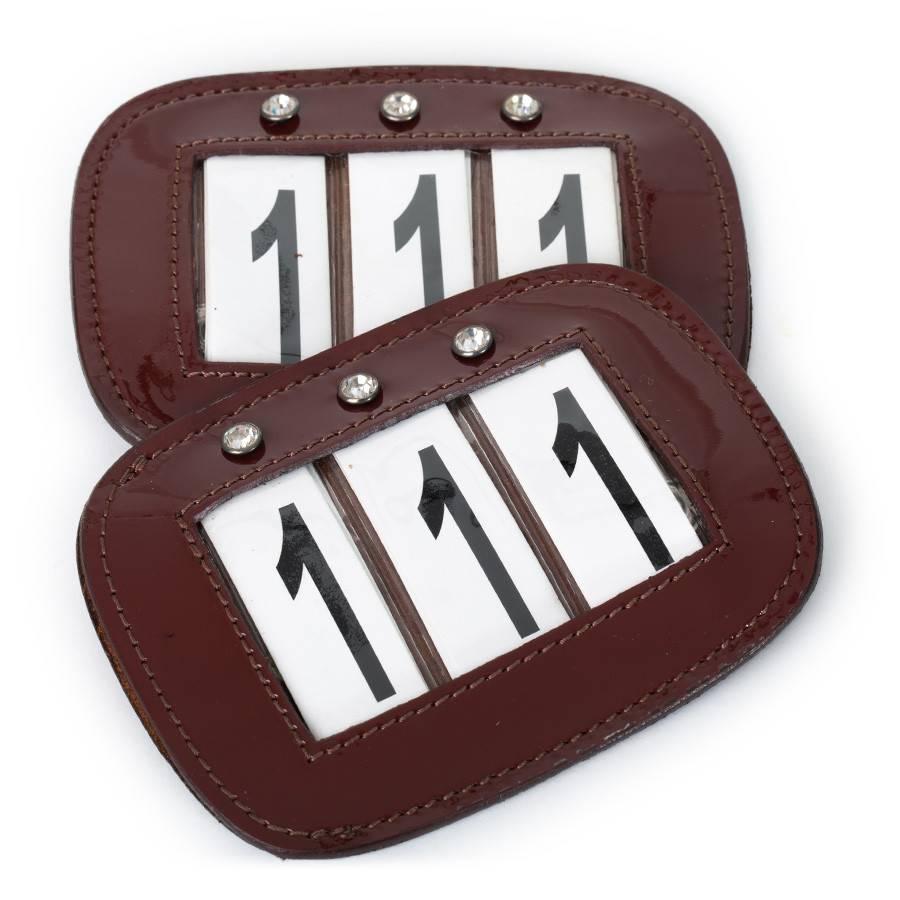 Greenfield Selection Porte-numéros avec strass