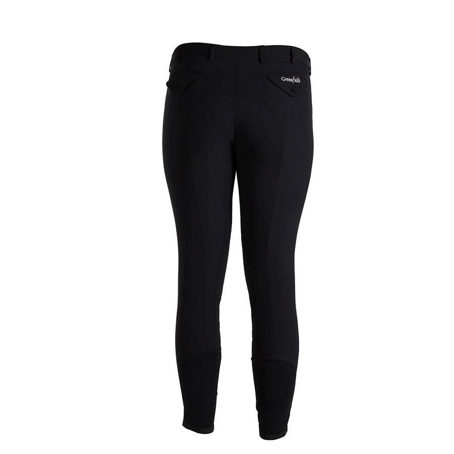 Greenfield Selection Pantalon d'équitation homme - noir