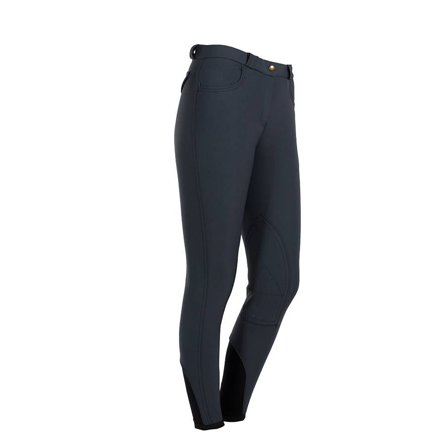 Greenfield Selection Pantalon d'équitation femme - gris