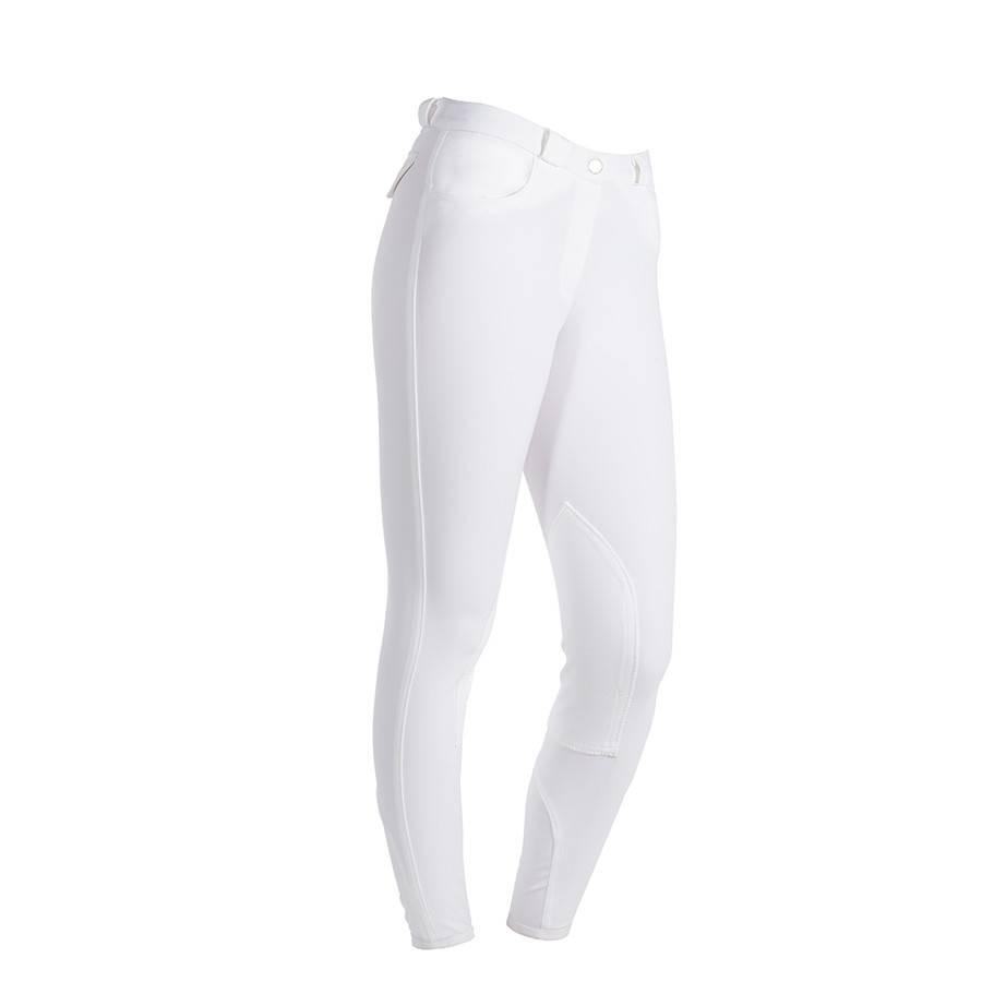 Greenfield Selection Pantalon d'équitation femme - blanc