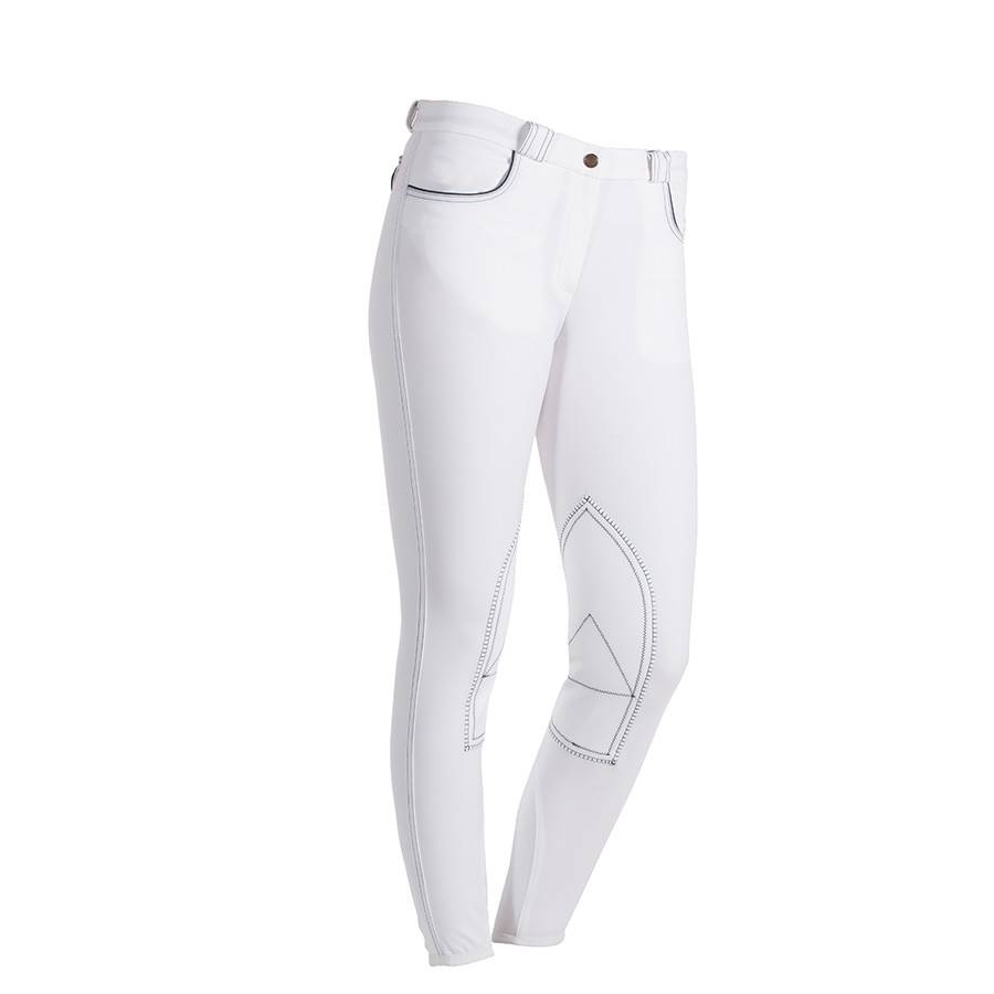 Greenfield Selection Breeches ladies - white with dark stitches